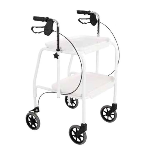 Chariot de marche Days - Déambulateur à 4 roues...