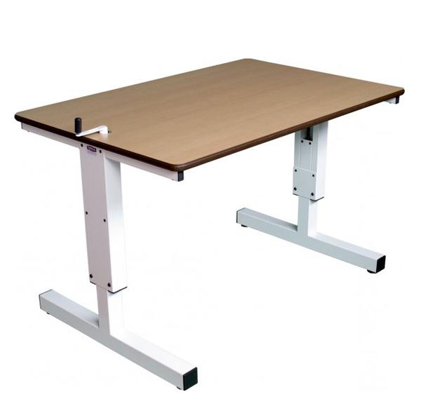 Grand bureau spécial HV - Table de travail à hauteur rég...