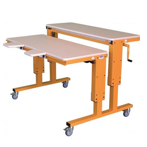 Grand bureau spécial 2 plans HV - Table de travail à hau...