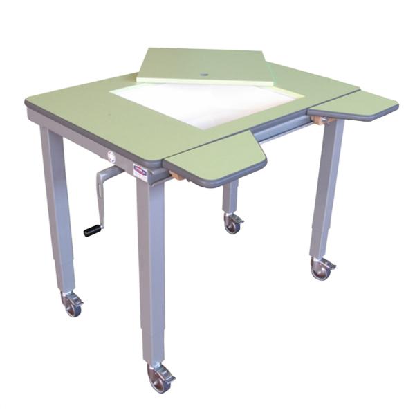 Table 4 pieds spécial HV - Table de travail à hauteur ré...