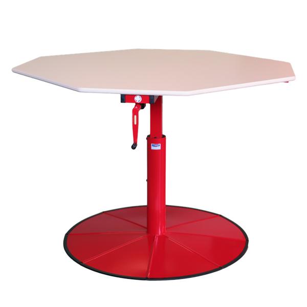 Table 1 pied spécial HV O - Table de travail à hauteur r...