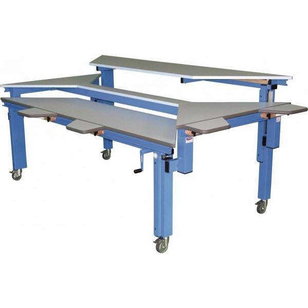 Table spécial multi-HV rectangulaire - Table de travail ...