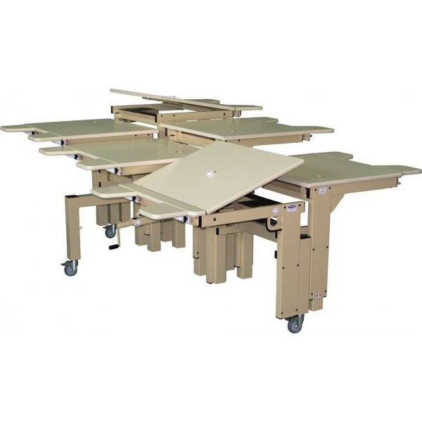 Table spécial multi-HV pluriel X - Table de travail avec...