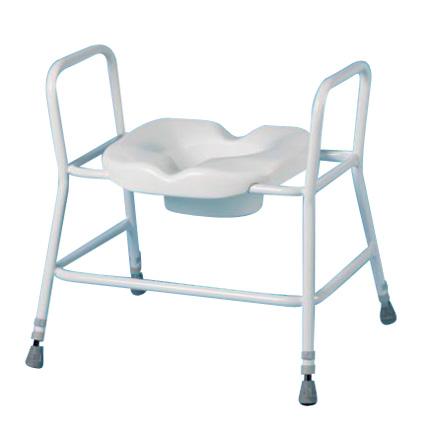 Cadre de toilettes bariatrique Premium Homecraft - Cadre...