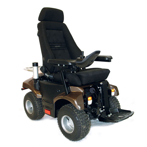 P4 Crossover 4x4 - Fauteuil roulant électrique a châssis...