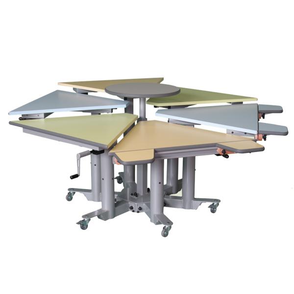 Table spécial multi-HV pluriel F - Table de travail à ha...