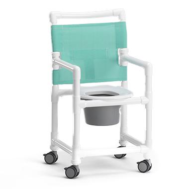 SCC 250 - Chaise percée à roulettes...