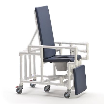 SCC 250 RC - Chaise percée à roulettes...