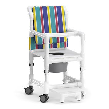 KSC 180 PPK - Chaise percée à roulettes...