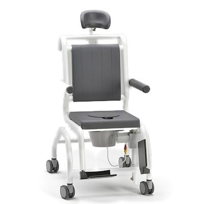 SCC 250 Comfort E - Chaise percée à roulettes...
