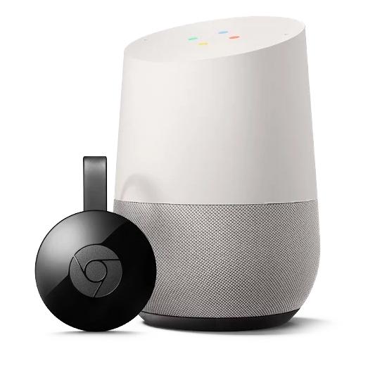 Google Home - Contrôle d'environnement...