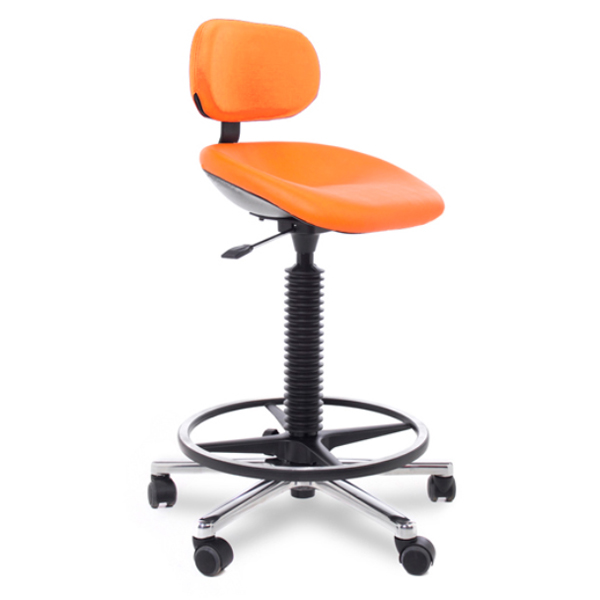 Sitting - Tabouret avec selle inclinable (assis-debout)...
