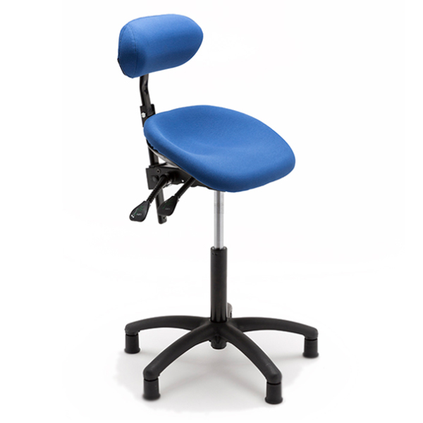 Asyncrone ra - Tabouret avec selle inclinable (assis-deb...