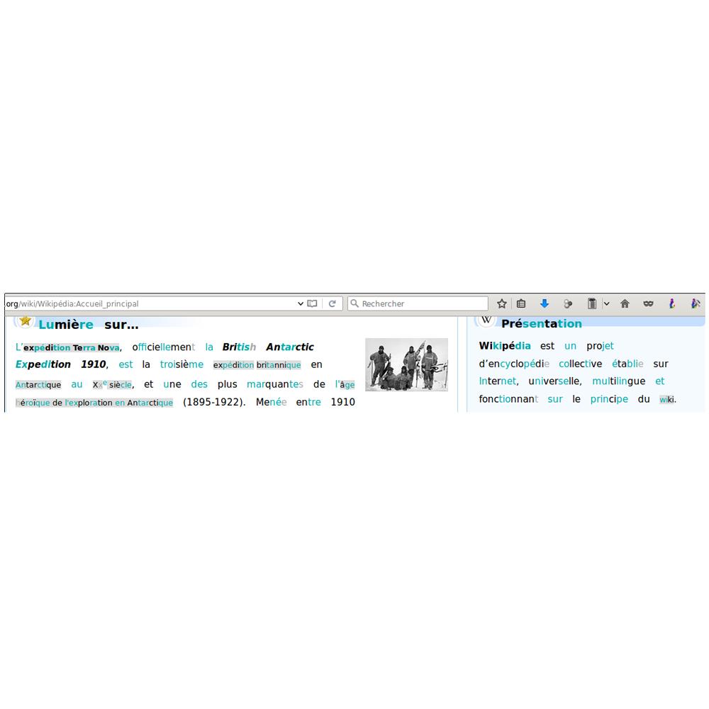 Aventureux - Logiciel de traitement de texte...