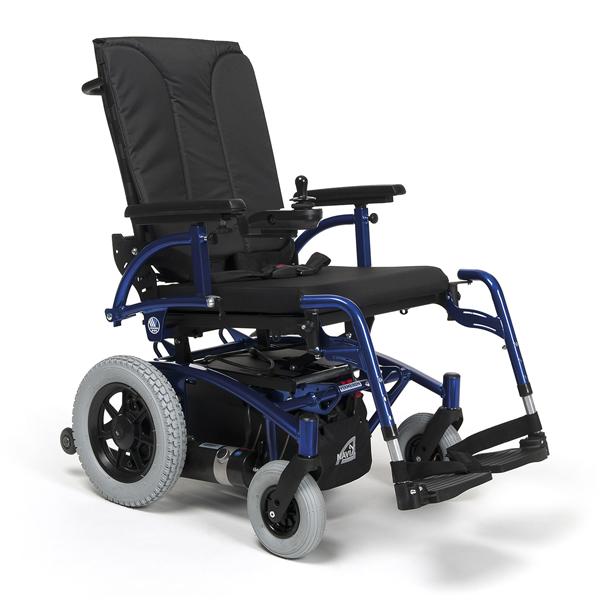 Navix RWD - Fauteuil roulant électrique à châssis pliant...