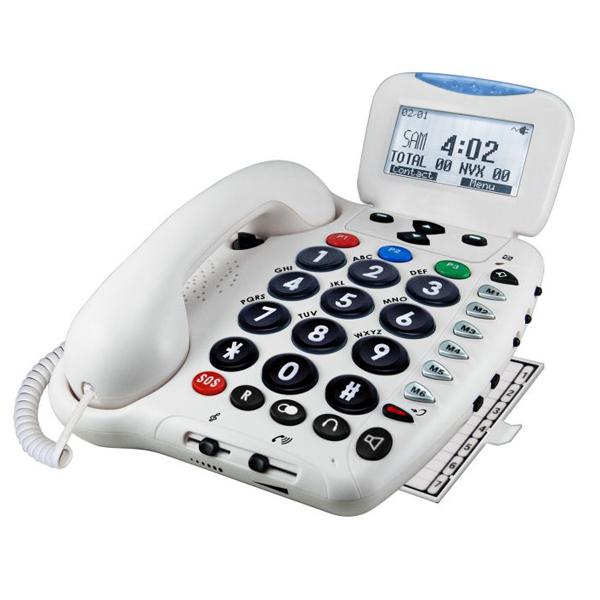 Téléphone alarme Securiphone + - Téléalarme...