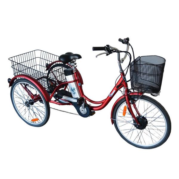Tricycle à assistance électrique SE 300R-36 - Tricycle à...
