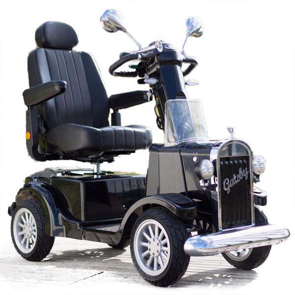 Scooter électrique Vintage Gatsby - Scooter à quatre rou...