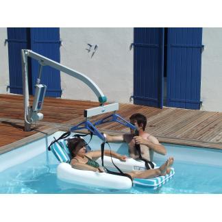 AQUALEVEL Rotation Manuelle - Élévateur pour piscine...