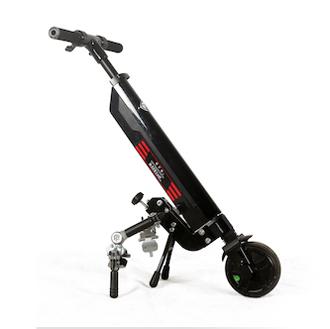 Light Up - Troisième roue électrique pour fauteuil roula...