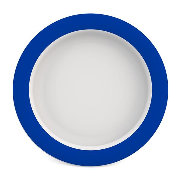 Assiette avec fond incliné - Assiette à rebord...