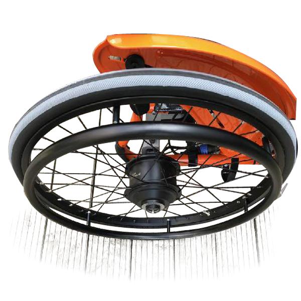 Kit Duo - Kit de propulsion électrique pour fauteuil rou...