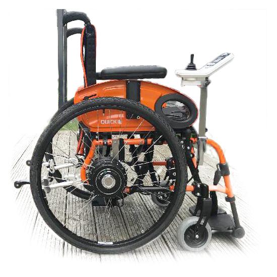 Kit Nomad - Kit de propulsion électrique pour fauteuil r...