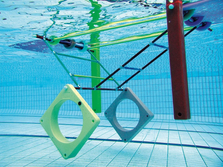 Cage suspendue - Accessoire de natation...