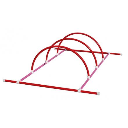 Structure 2m + 3 demi-cercles - Accessoire de natation...