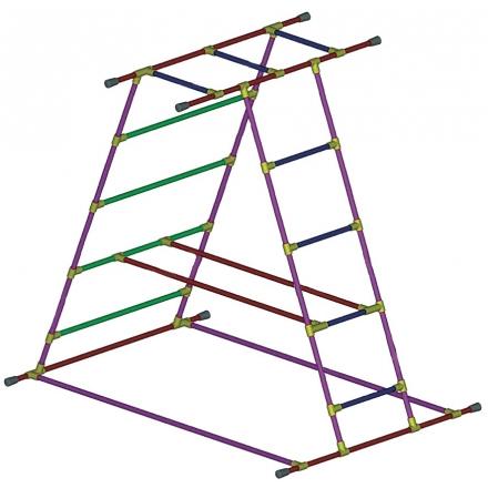 Cage pyramide - Accessoire de natation...
