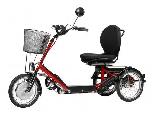 Tricycle Disco Adulte - Tricycle à deux roues arrière pr...