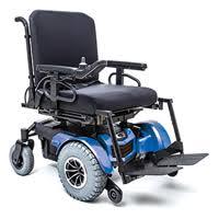 Q1450 - Fauteuil roulant électrique à châssis fixe...