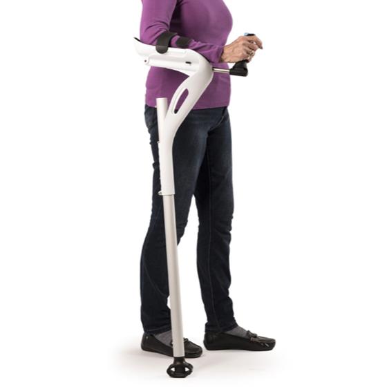 M+D Crutch Béquille avec bras articulé - Béquille ...