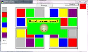 Jeu des 6 couleurs - Logiciel d'apprentissage...