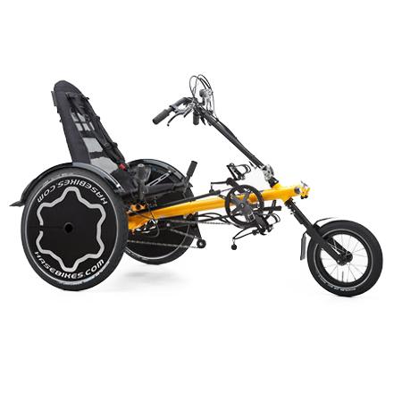 Trets REH - Tricycle à deux roues arrière propulse par l...