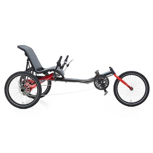 Trigo - Tricycle à deux roues arrière propulse par les p...