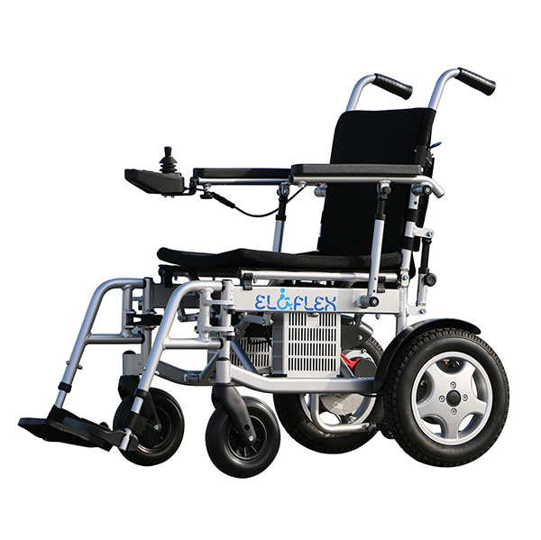 Eloflex X - Fauteuil roulant électrique à châssis pliant...