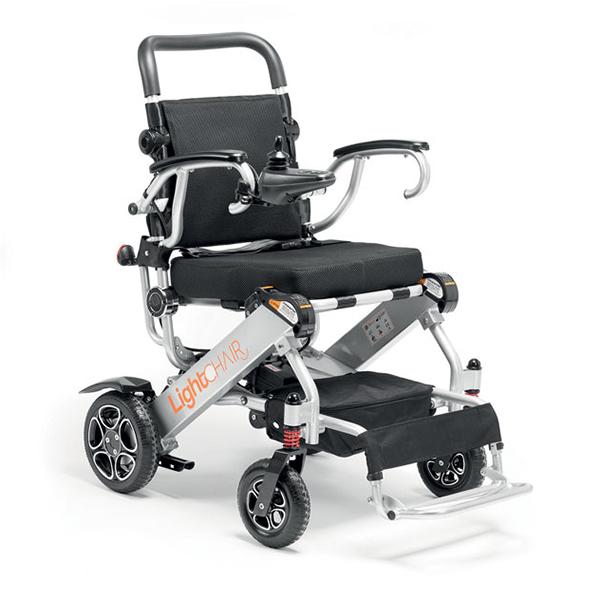 Lightchair - Fauteuil roulant électrique à châssis plian...
