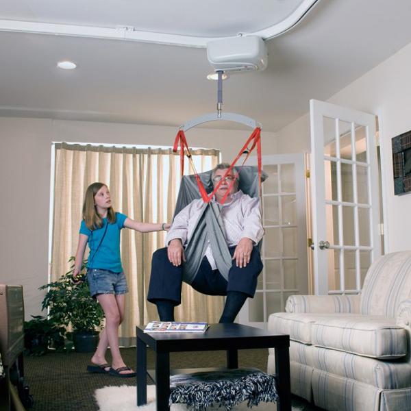 Sangle XXL - Lève-personne fixe au plafond sur rail...