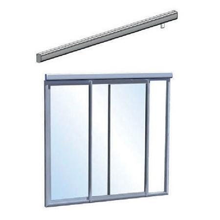 Baie coulissante à galandage - Automatisation de fenêtre...
