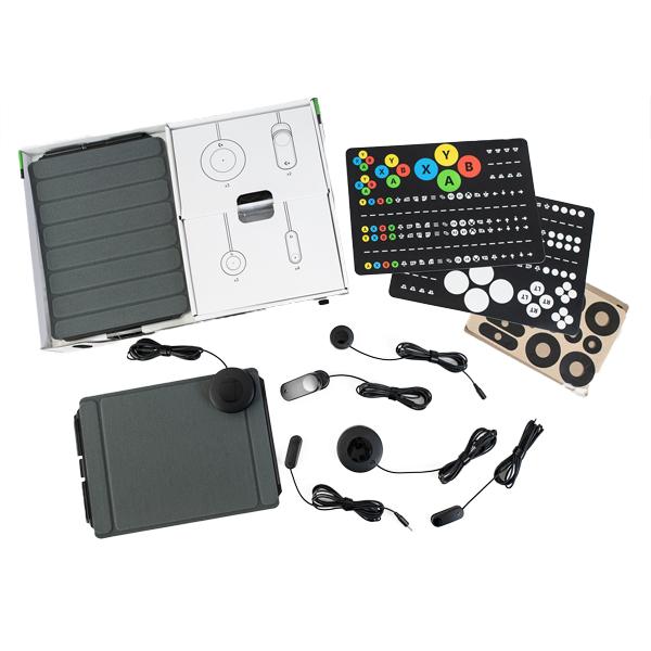 Kit de jeu adaptatif - Contacteur bouton...