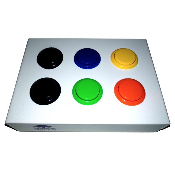 Combo 6 boutons - Contacteur bouton...