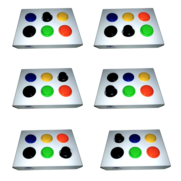 Combo stick + boutons - Contacteur bouton...