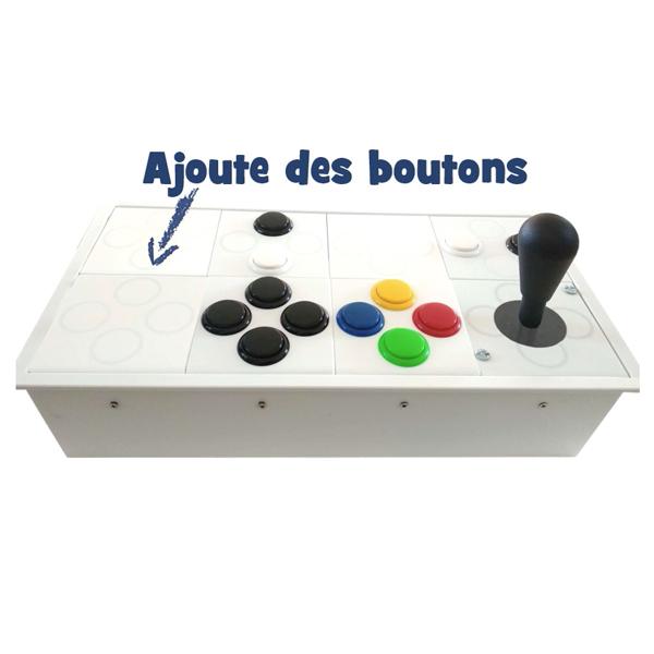 Boîtier arcade PS4/PC - Joystick...