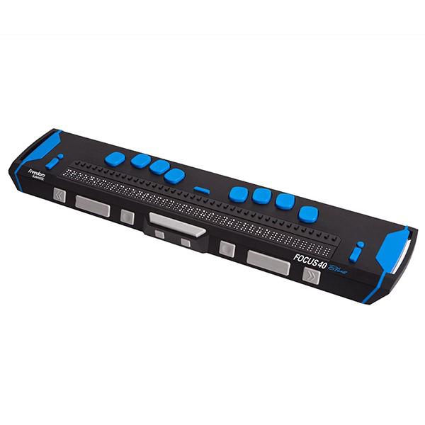 Focus 40 Blue - Plage braille...
