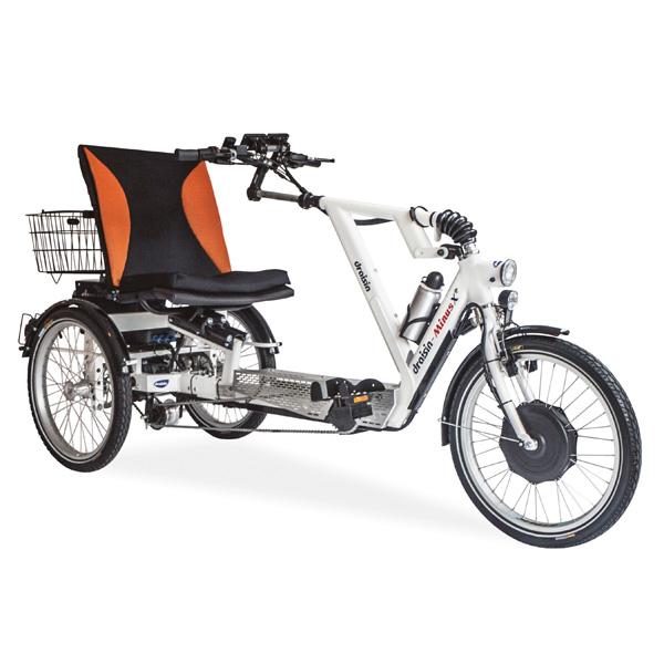 Minus X - Tricycle à deux roues arrière propulse par les...