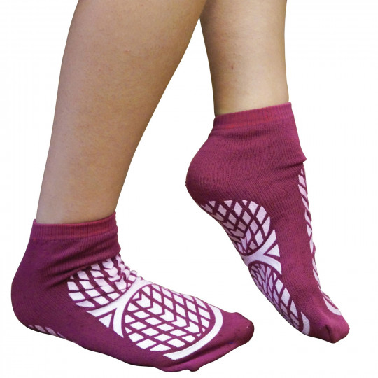 Paire de chaussettes antidérapantes double face