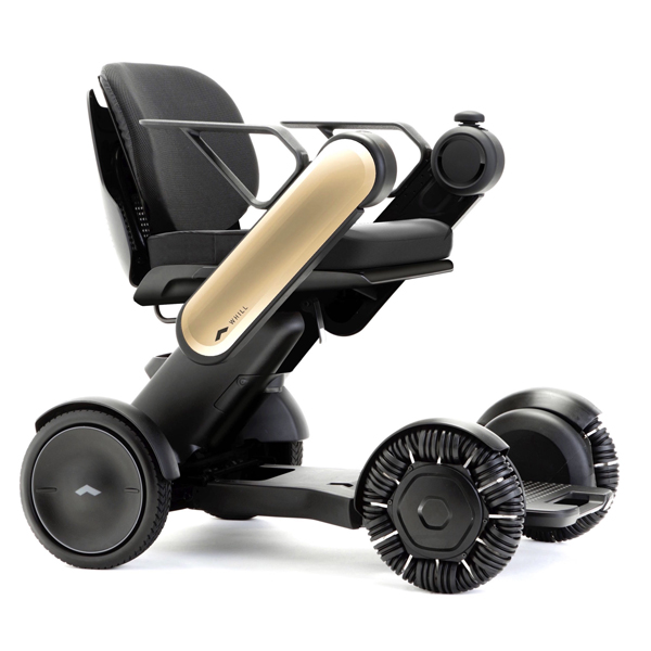 Model C - Fauteuil roulant électrique à châssis pliant o...