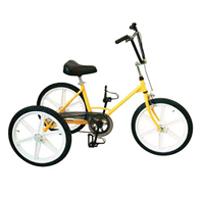 Tricycle Tonicross Basic - Tricycle à deux roues arrière...