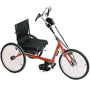 Tricycle Manucross II - Tricycle à deux roues arrière pr...
